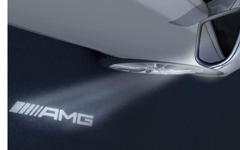 AMG Logo LED